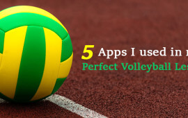 5 apps volleyball